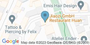 Google Map for Restaurant Huan