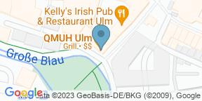 Google Map for QMuh Ulm