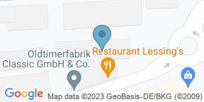 Google Map for Restaurant Lessing's