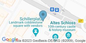 Alte Kanzlei Stuttgart auf Google Maps