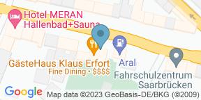Gästehaus Klaus ErfortのGoogle マップ