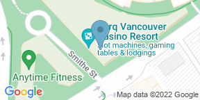 Google Map for BC Kitchen - Parq Vancouver