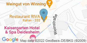 RIVA Restaurant & BarのGoogle マップ