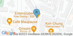 Google Map for Restaurant Entenstuben