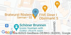 Google Map for Bratwurst Röslein