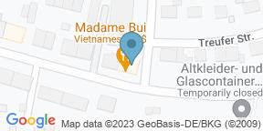 Google Map for Restaurant Madame Bui