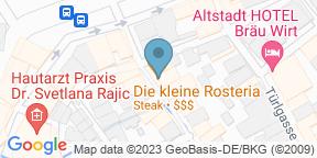 Google Map for Steak Lounge