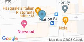 Google Map for Pauline Bistro