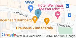 Google Map for Burgerheart Bamberg