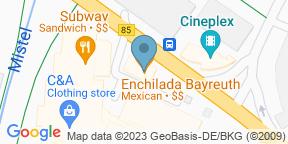 Google Map for Enchilada Bayreuth