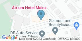 ADAGIO im Atrium Hotel auf Google Maps