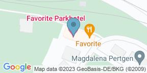 Google Map for Favorites Biergarten