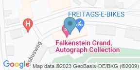 Google Map for Landgut Falkenstein