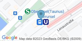 Google Map for LOUNGE Oberursel