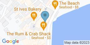 Google Map for Porthminster Kitchen