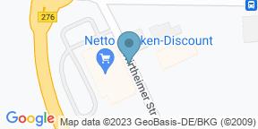 Google Map for Rieger's Kaffeebar