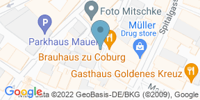 Google Map for Brauhaus zu Coburg