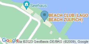 LAGO BEACH ZÜLPICHのGoogle マップ