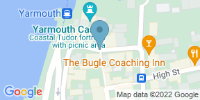 Google Map for The George Hotel & Beach Club