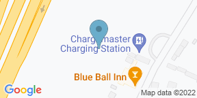 Google Map for The Blue Ball