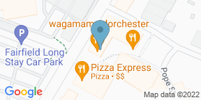 Google Map for Luciano's Dorchester