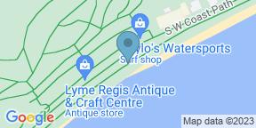 Google Map for Tom's Lyme Regis