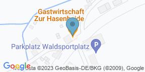 Gastwirtschaft Zur Hasenheide auf Google Maps