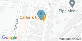 Google Map for Carter & Co