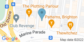 Google Map for Charles Street Tap Brighton