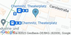 Google Map for Cafe Moskau - Billard Area