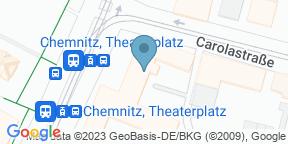 Google Map for Cafe Moskau