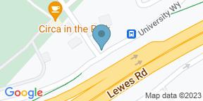 Mapa de Google para One Garden Brighton