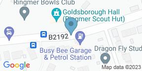 Google Map for The Roebuck Inn