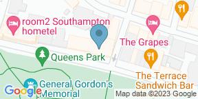 Google Map for Porters Steakhouse