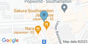 The Bedford Southampton auf Google Maps