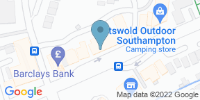 Google Map for Coop Micro Bar