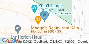 Mongo's KölnのGoogle マップ