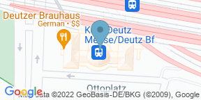Deutzer BrauhausのGoogle マップ