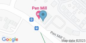 Pen Mill HotelのGoogle マップ