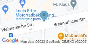 Google Map for ESPITAS Erfurt