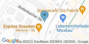 Google Map for ESPITAS Dresden Gruna