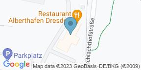 Restaurant Alberthafen auf Google Maps
