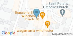 Brasserie Blanc WinchesterのGoogle マップ