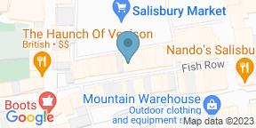 Google Map for Market Inn Salisbury