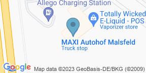 Maxi Autohof Malsfeld auf Google Maps