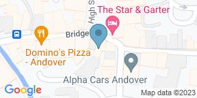 Google Map for Redbridge Andover
