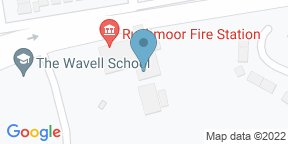 Google Map for Holiday inn - Farnbourgh