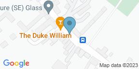 Google Map for The Duke William Ickham