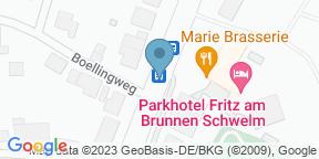 Marie Chocolaterie & Brasserie auf Google Maps