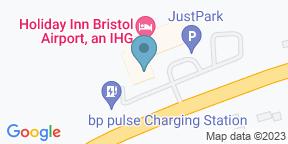 Google Map for The Spot Kitchen & Bar, Bristol Airport